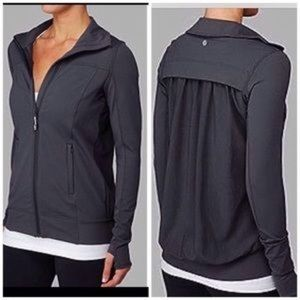 Lululemon 'Tadasana' Mesh Back Full-Zip Jacket